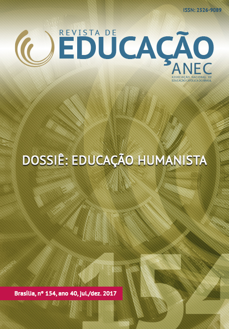 Visualizar v. 41 n. 154 (2017): Dossiê: Educação Humanista